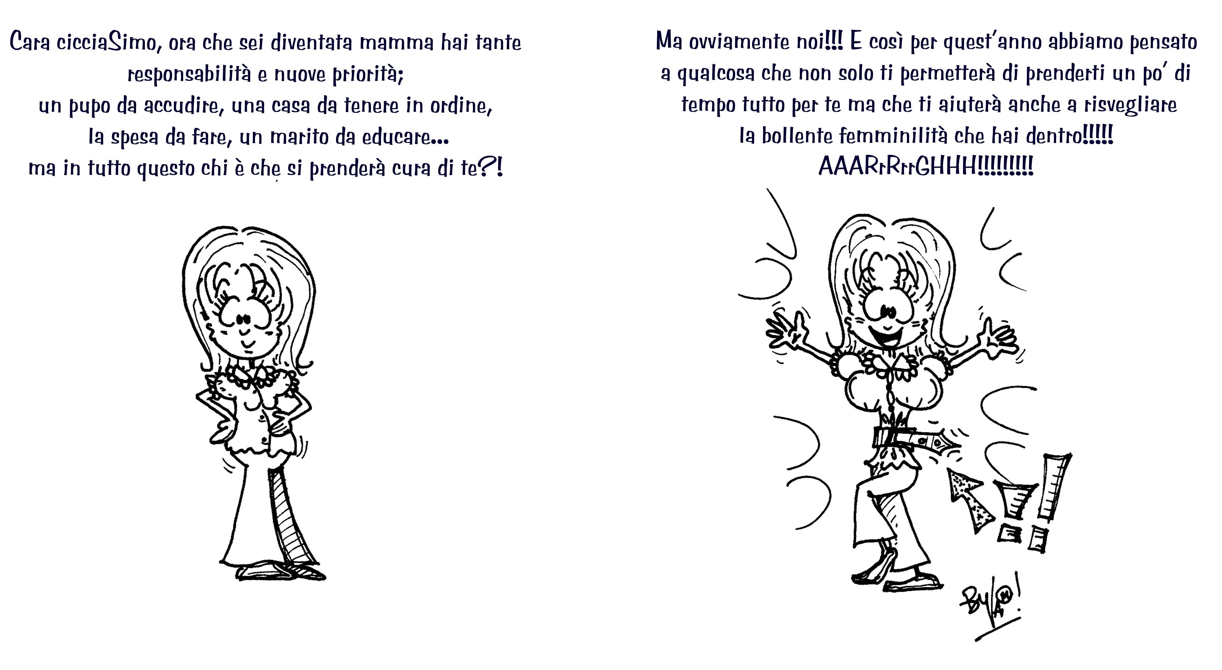 BIGLIETTO DI COMPLEANNO DI SIMONA   NEOMAMMA | VALE TI DISEGNA