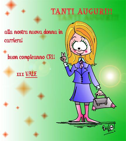 Biglietto Di Compleanno Di Cristina Vale Ti Disegna